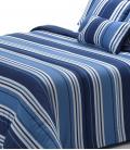 Silky Touch Wide Stripe Blue 300gr