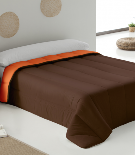 Bicolor Duvet Orange/brown